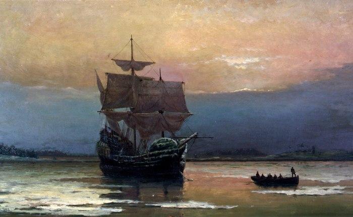 400 jaar geleden: de Mayflower komt aan inAmerika
