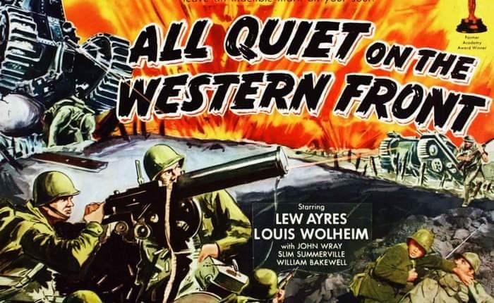 """Negentig jaar geleden: oscars voor """"All quiet on the westernfront"""""""