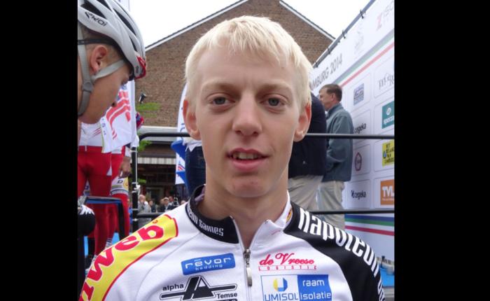 Michael Vanthourenhout wint inMerksplas