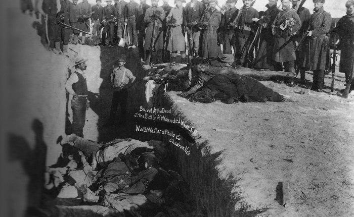 130 jaar geleden: het bloedbad van WoundedKnee