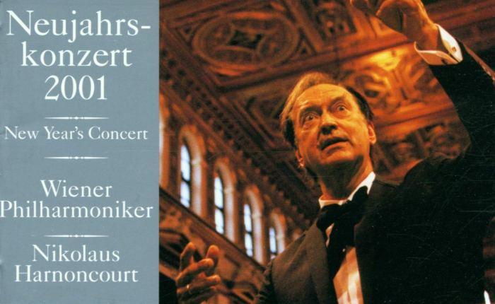 Twintig jaar geleden: Nikolaus Harnoncourt leidt het Nieuwjaarsconcert