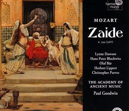 """155 jaar geleden: première van """"Zaïde"""" (Mozart)"""