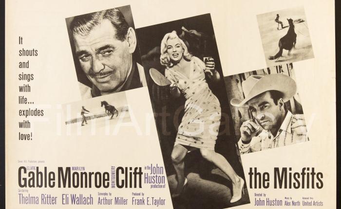 """Zestig jaar geleden: première van """"TheMisfits"""""""