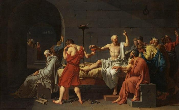 2420 jaar geleden: Socrates ter doodveroordeeld
