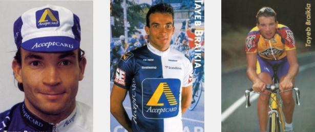 Vijftien jaar geleden: een val betekent het einde van de wielerloopbaan van TayebBraikia