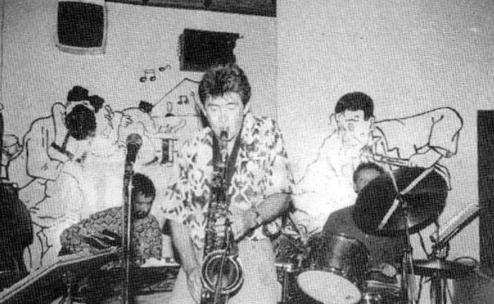 Dertig jaar geleden: jazzgroep Kajal in GentseBackstage