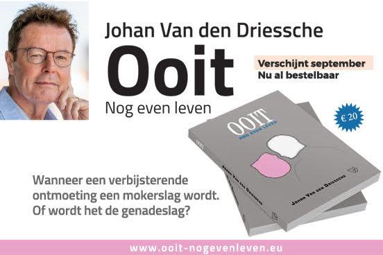 Literair debuut van Johan Van DenDriessche