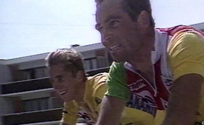 """35 jaar geleden: Hinault en LeMond """"broederlijk"""" op Alped'Huez"""