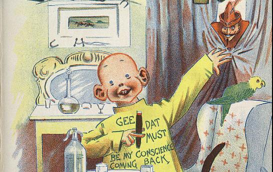 125 jaar geleden: het eerstestripverhaal